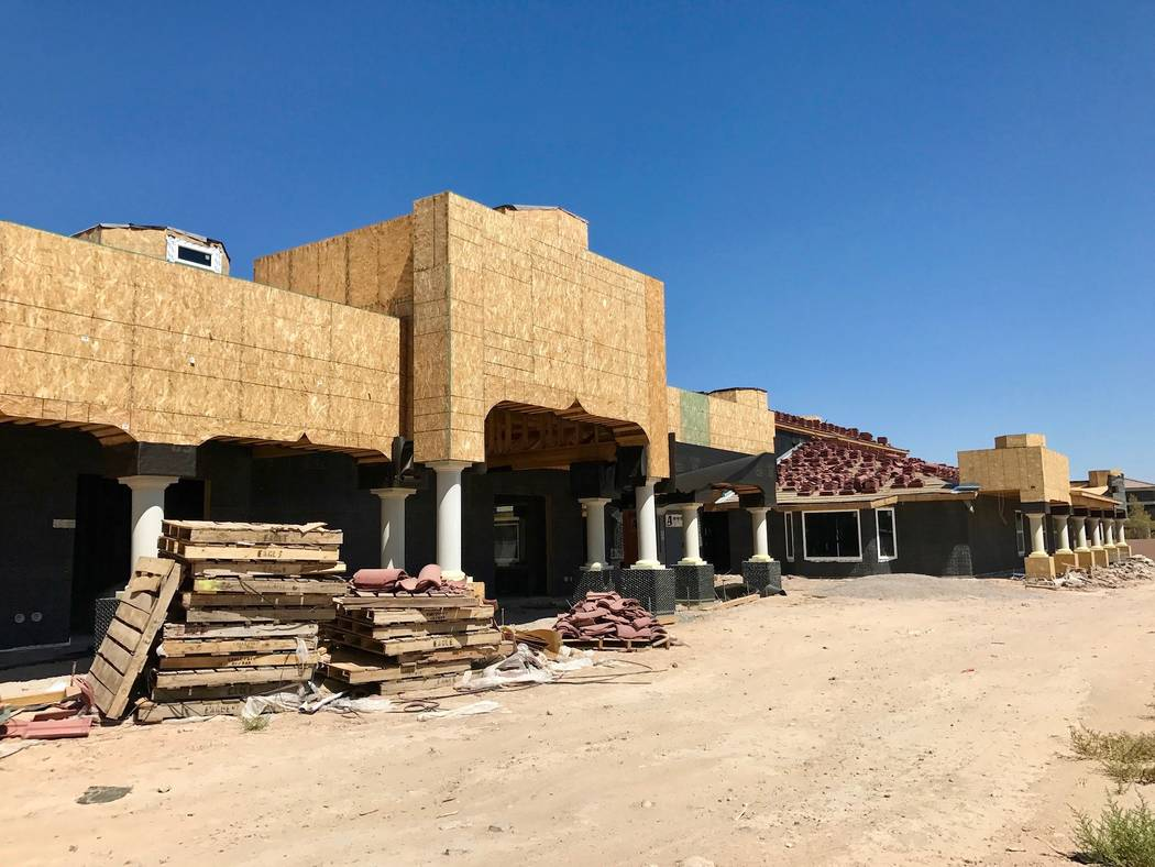 Govinda's Sanctuary in Southeast Las Vegas will include a temple, classrooms, a dining hall, living quarters, a library and meditation sites. (Madelyn Reese/View) @MadelynGReese