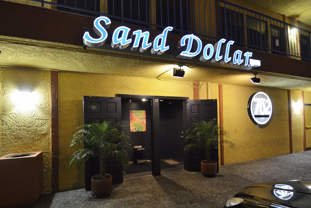 The exterior of Bar 702 is shown during the grand re-opening of the Sand Dollar Lounge at 3355 Spring Mountain Road in Las Vegas on Thursday, July 10, 2014. Bill Hughes Las Vegas Review-Journal