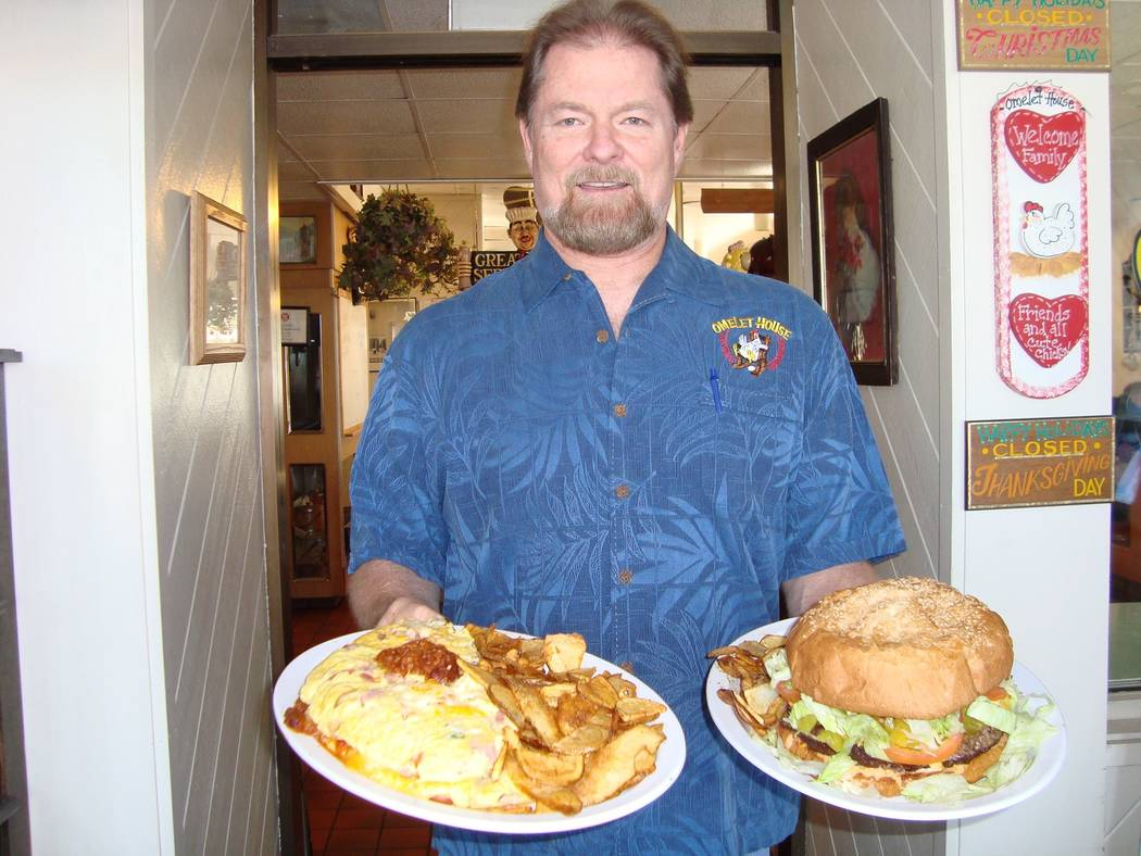"Owner Fred Ostertag has worked every facet of the restaurant over the years, including making the famous ""monster""  foods. (Alex Meyer/View) @alxmey"