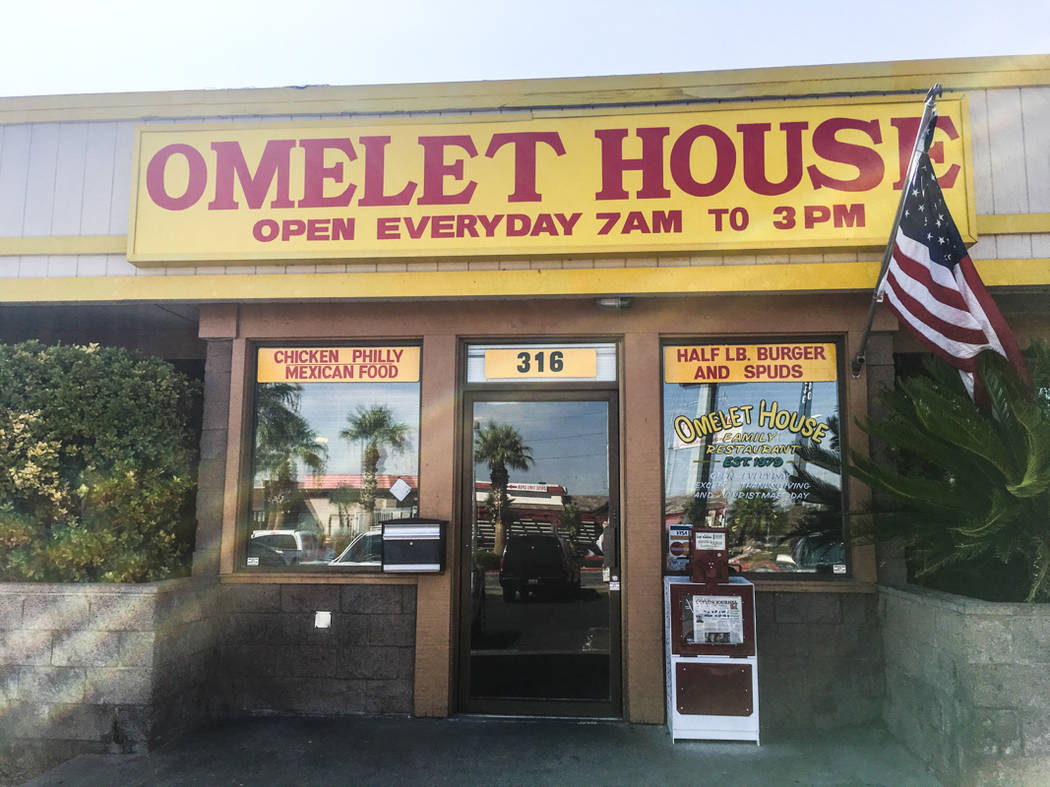 Omelet House opened at its Boulder Highway location in Henderson in 1992 under the ownership of local Fred Ostertag. (Alex Meyer/View) @alxmey