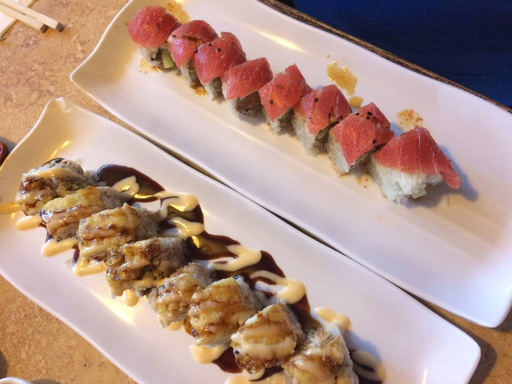 Just for the Halibut and Tiger Roll at The Sushi. (Jan Hogan/View)