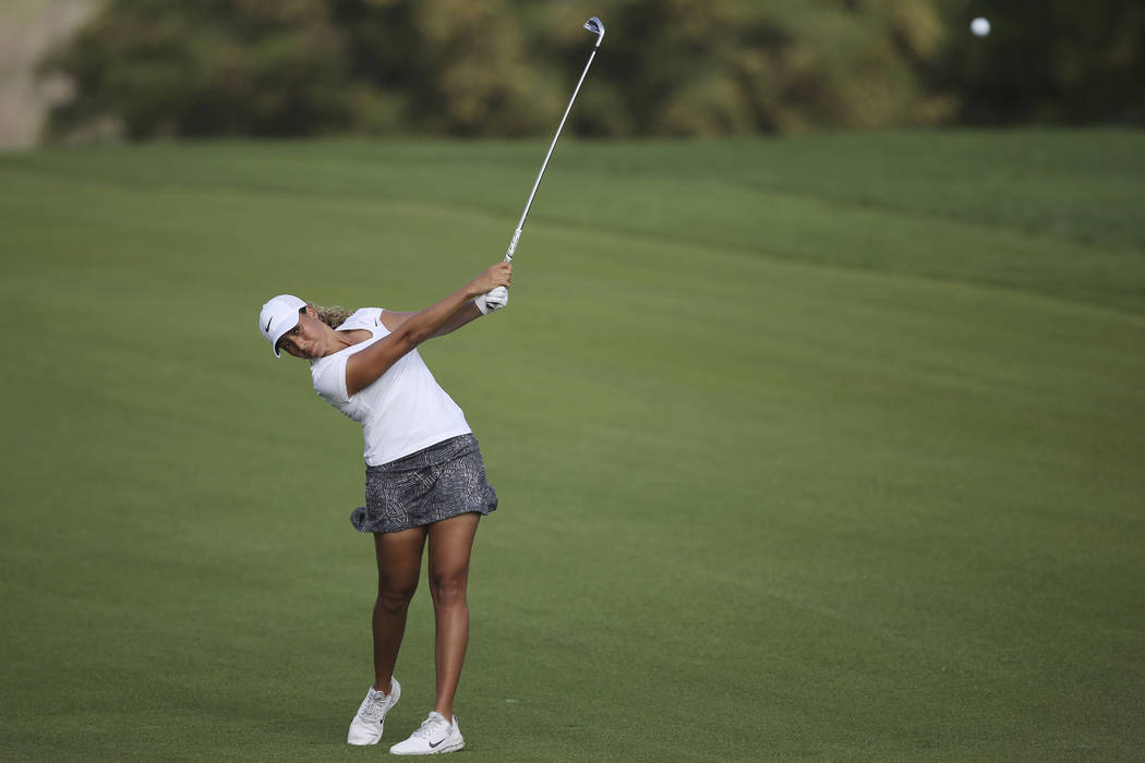 Cheyenne Woods, the niece of Tiger Woods, is one of several tour professionals who are sponsored by MGM Resorts International, a group that also includes local players Ryan Moore, Scott Piercy and ...