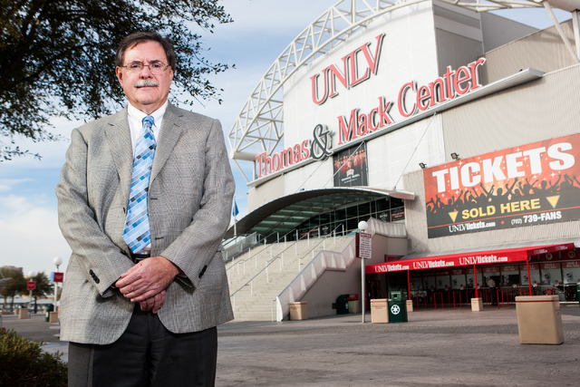 UNLV Senior Vice President for Finance and Business Gerry Bomotti is leaving his position at the end of this week. (Chase Stevens/Las Vegas Business Press)