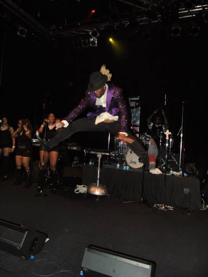 Mark Brown of DreamStone performing in Las Vegas. Courtesy of Mark Brown
