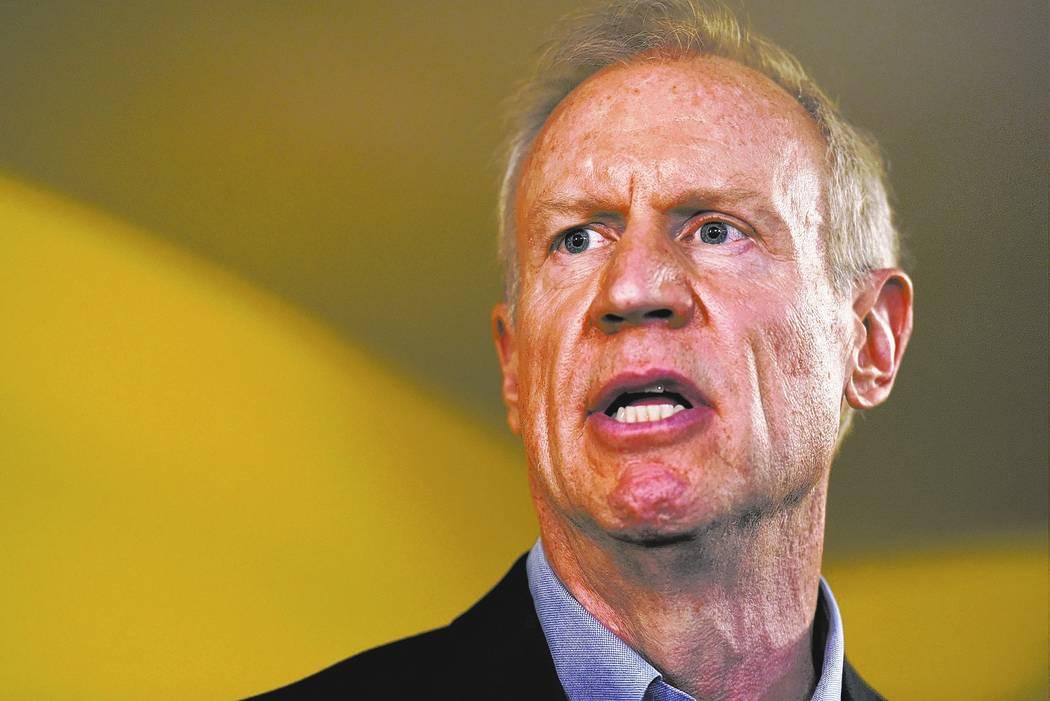 Illinois Gov. Bruce Rauner. AP Photo/G-Jun Yam