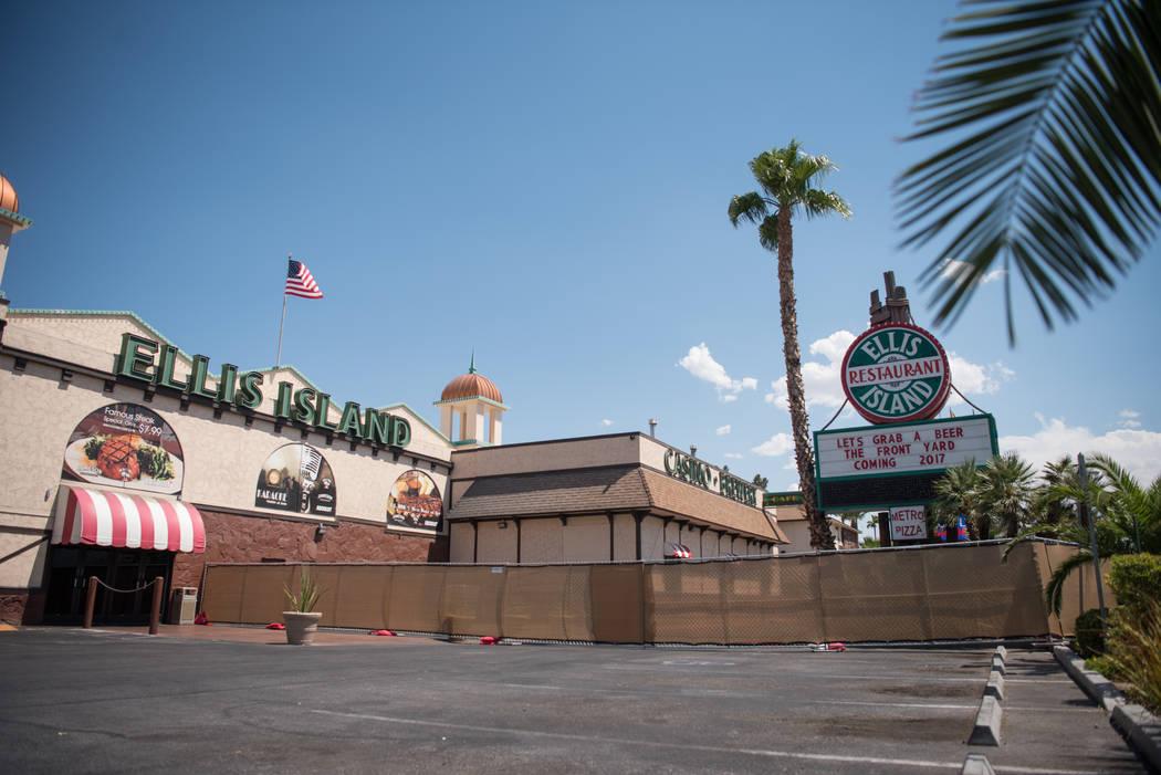 Ellis Island hotel-casino contruction site on Thursday, July 6, 2017, in Las Vegas. Morgan Lieberman Las Vegas Review-Journal