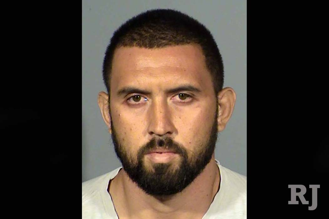 Lance Kaanoi has been charged in the fatal crash at at 215 Beltway and Sunset Road offramp in southwest Las Vegas, Wednesday, July 5, 2017. (Nevada Highway Patrol)