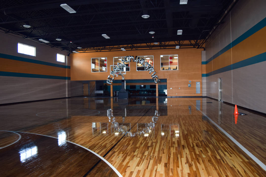 Behind the new basketball court is a billiards room replete with pool tables and gaming setups for church members who enjoy video games. (Alex Meyer/View) @alxmey