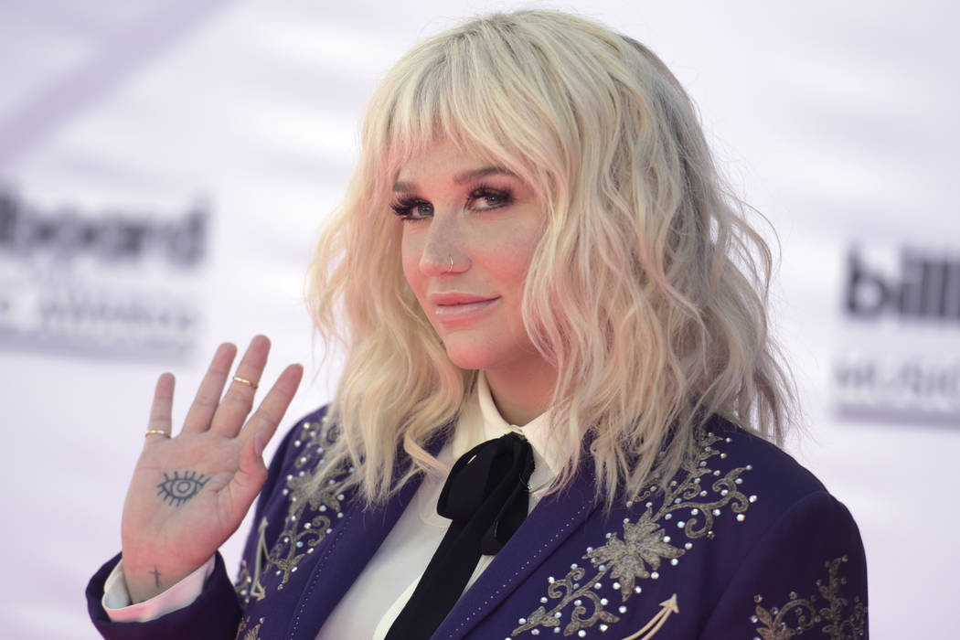 Kesha arrives May 22, 2016, at the Billboard Music Awards at the T-Mobile Arena in Las Vegas. (Richard Shotwell/File, Invision/AP)