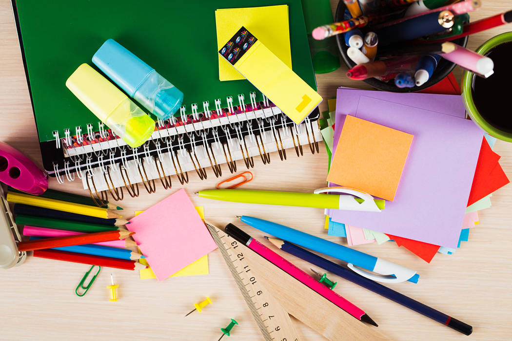 In Nevada, the Teachers' School Supply Reimbursement Account reimburses up to $250 annually for out-of-pocket school supply expenses. (Thinkstock)