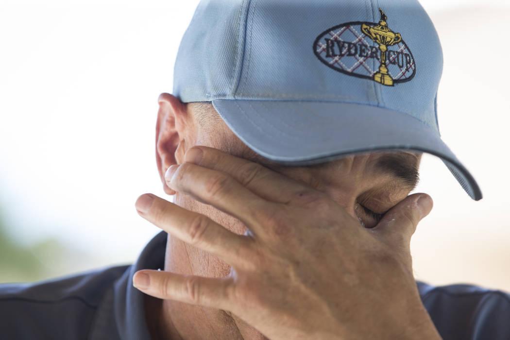 Tim Chambers, former head coach for the UNLV's baseball team, at his Las Vegas home on Friday, June 16, 2017. Erik Verduzco/Las Vegas Review-Journal