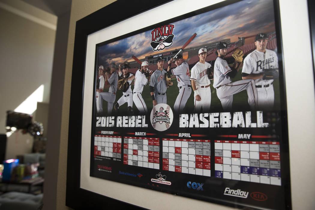 Inside the home of Tim Chambers, former head coach for the UNLV's baseball team, on Friday, June 16, 2017. Erik Verduzco/Las Vegas Review-Journal