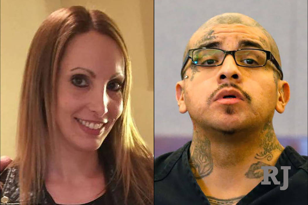 Alexis Plunkett, left, and Andrew Arevalo, right (Facebook/Las Vegas Review-Journal)