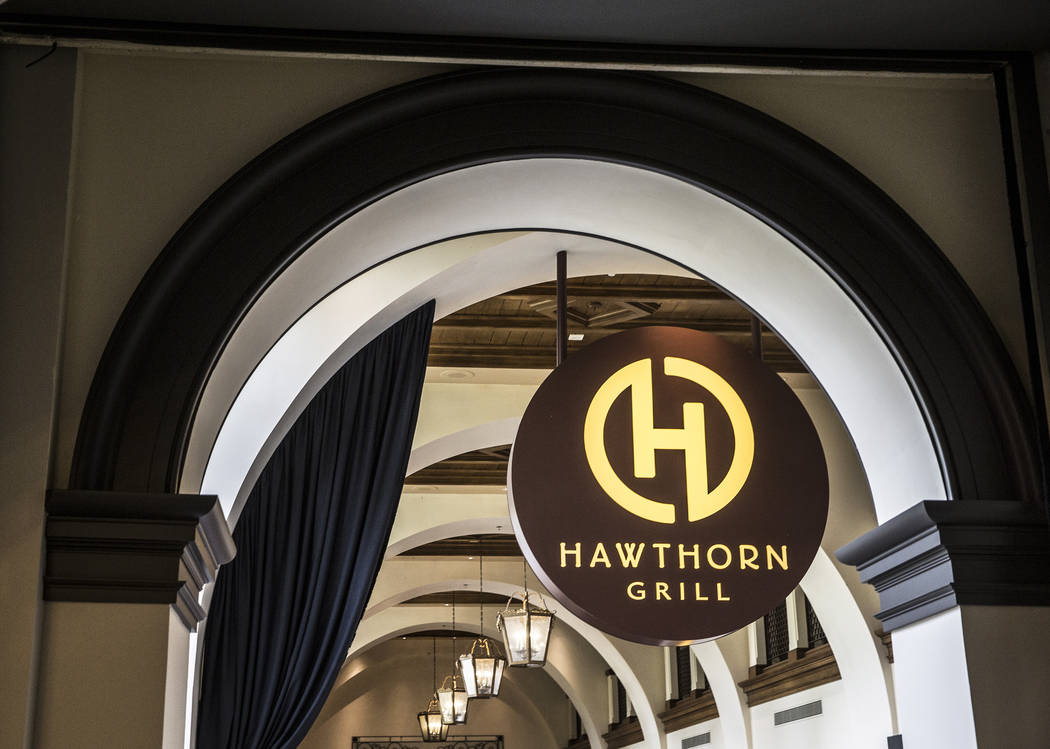 Hawthorn Grill on Friday, July 7, 2017, at J.W. Marriott, in Las Vegas. Benjamin Hager Las Vegas Review-Journal @benjaminhphoto