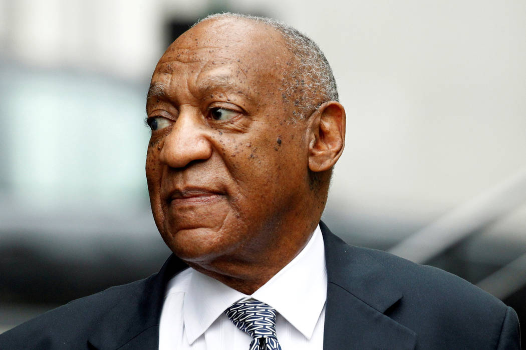 Actor and comedian Bill Cosby arrives at his sexual assault trial at the Montgomery County Courthouse in Norristown, Pennsylvania, U.S., on June 16, 2017. (Tom Mihalek/File, Reuters)