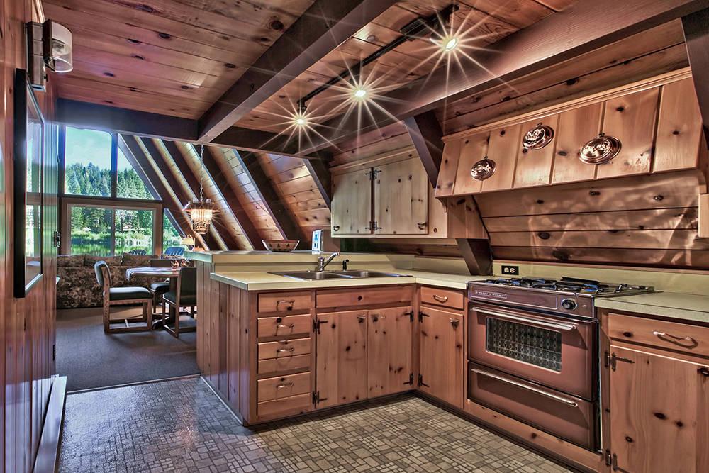 Sierra Sotheby's International Realty  The kitchen.