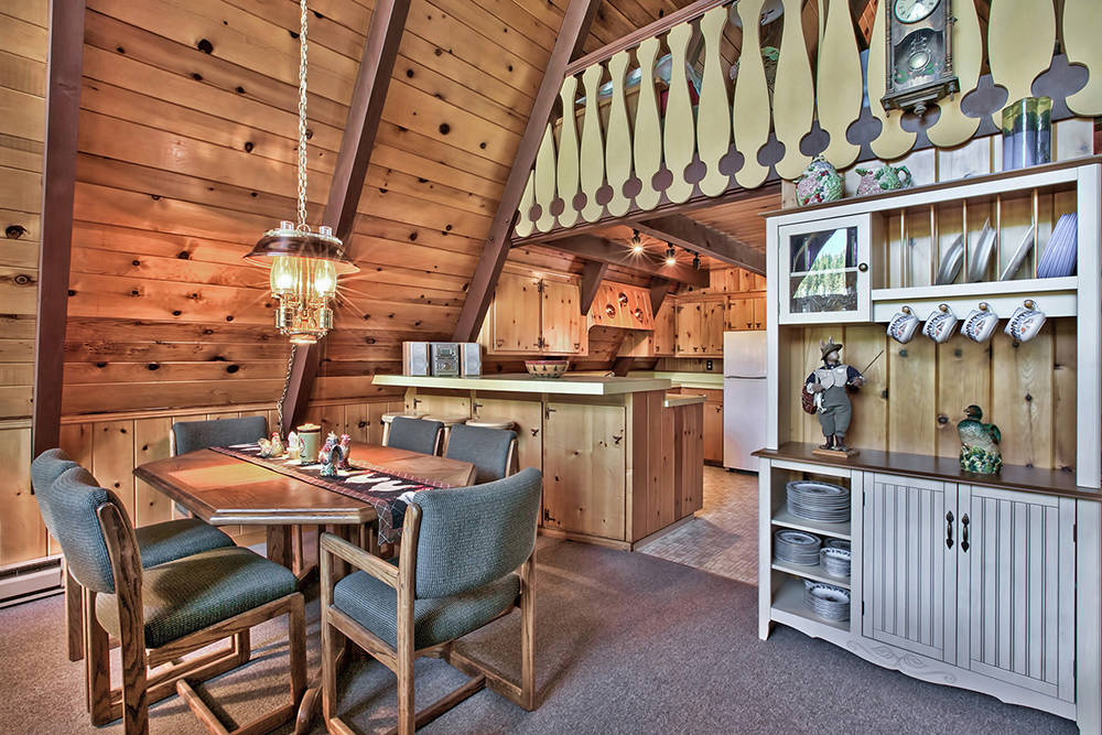 Sierra Sotheby's International Realty  The kitchen in one of the cabins.