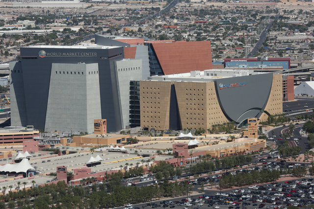 The World Market Center in downtown Las Vegas has been sold. (Brett Le Blanc/Las Vegas Review-Journal) @bleblancphoto