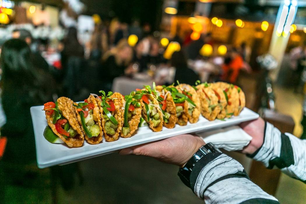 Yellowtail tacos at District One. Facebook