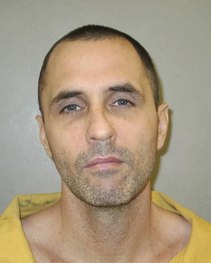 File-This undated photo provided by the South Carolina Department of Corrections shows Jimmy Causey who was re-captured in Texas early Friday, July 7, 2017, after his second escape from a maximum  ...