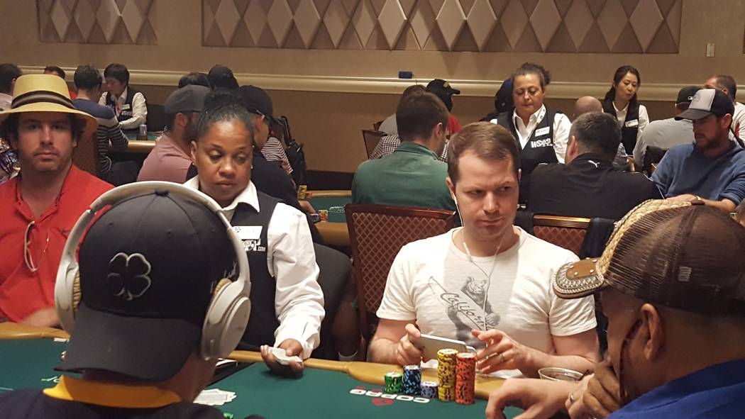 Jonathan Little was one of the most recognizable names on the leaderboard Saturday, as he finished Day 1A of the World Series of Poker's $10,000 buy-in No-limit Texas Hold 'em World Championsh ...