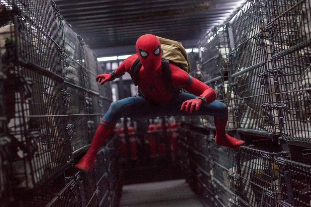 "Tom Holland stars as Spider-Man in Columbia Pictures' ""Spider-Man: Homecoming."" (Sony Pictures Entertainment)"