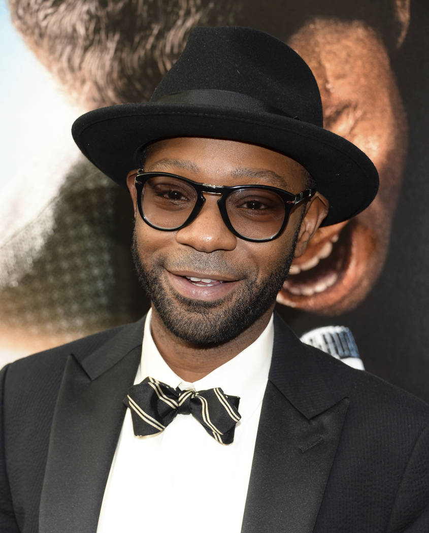 "Actor Nelsan Ellis attends the world premiere of ""Get On Up"" Monday,  July 21, 2014, at the Apollo Theater in New York. (Evan Agostini/File, Invision/AP)"
