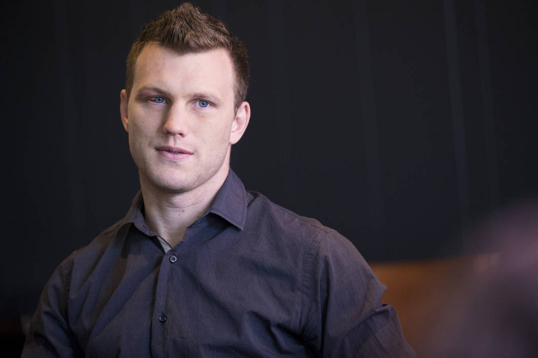 Professional boxer Jeff Horn during an interview in Los Angeles, Calif., on Tuesday, July 11, 2017. Erik Verduzco Las Vegas Review-Journal @Erik_Verduzco