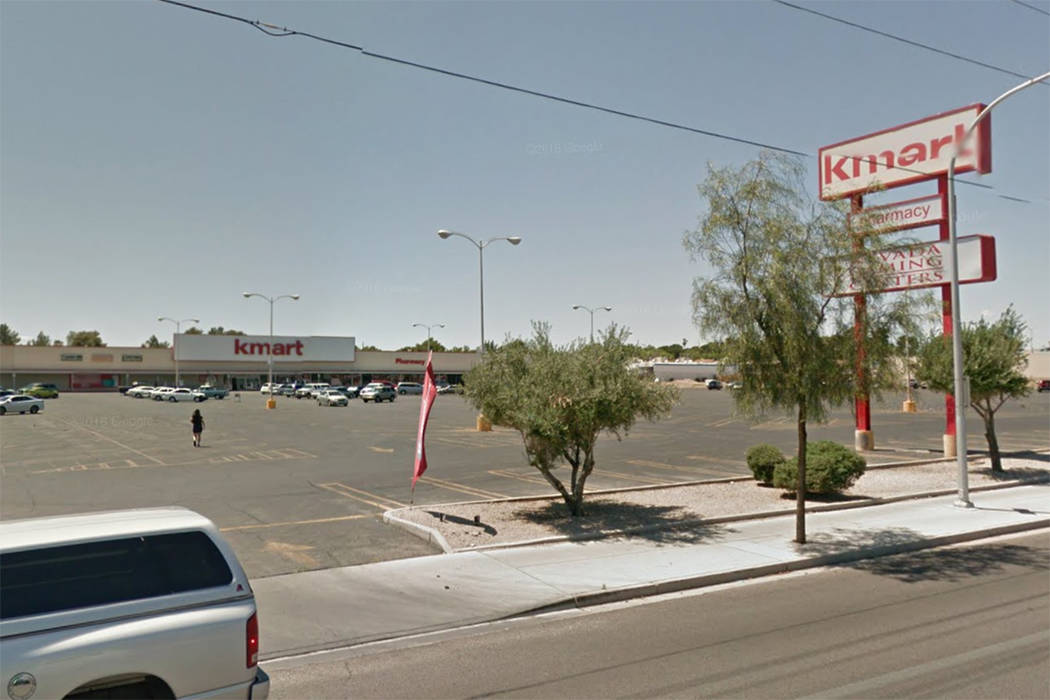 Kmart, 2975 E. Sahara Ave. in Las Vegas (Google Street View)