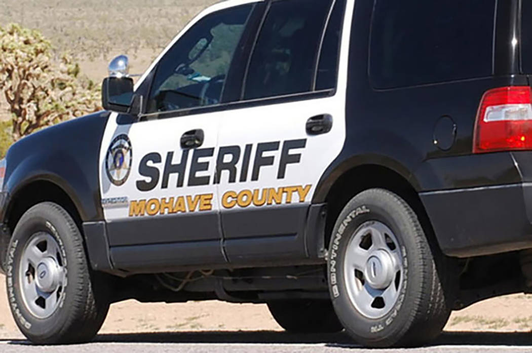 Mohave County Sheriff's Office vehicle (Dave Hawkins/Las Vegas Review-Journal)