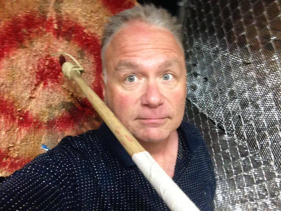 "Broadway actor Kevin Burke has been performing the Broadway show, ""Defending the Caveman,"" for a decade. (Courtesy)"