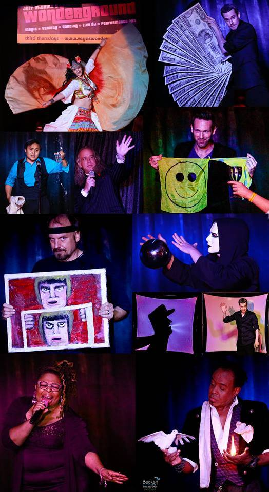 Las Vegas magician visit WONDERGROUND (Courtesy)