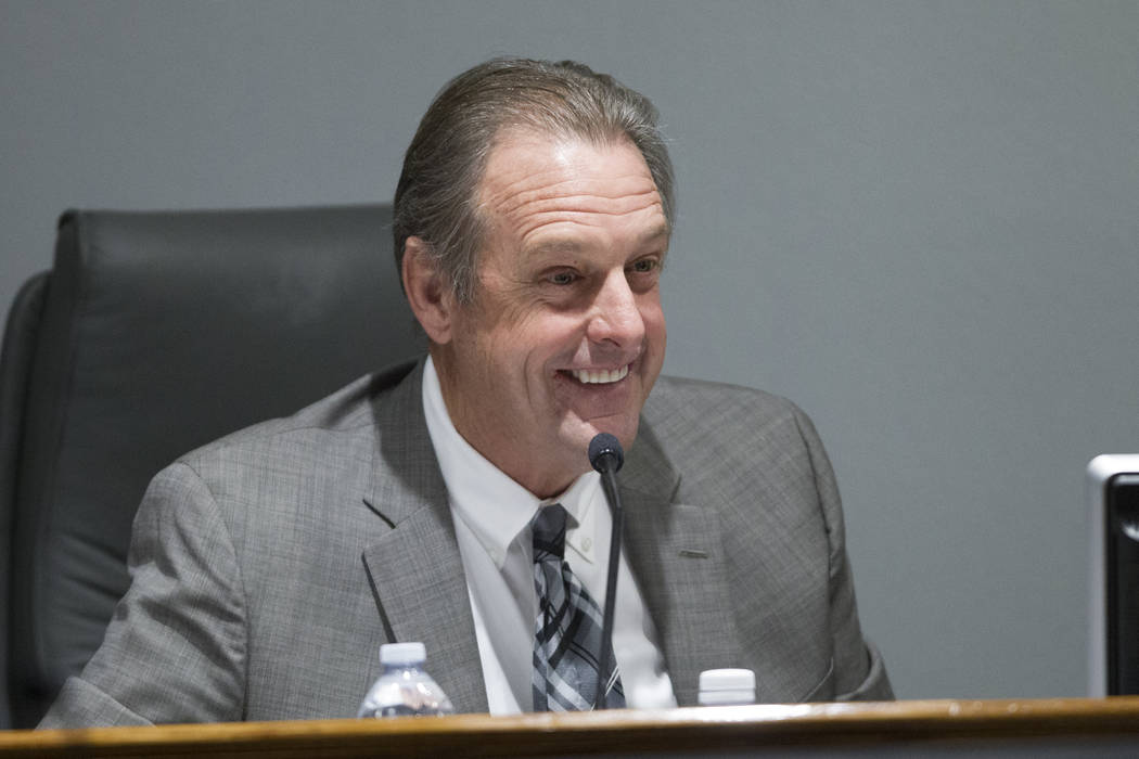 North Las Vegas Mayor John Lee (Erik Verduzco/Las Vegas Review-Journal) @Erik_Verduzco