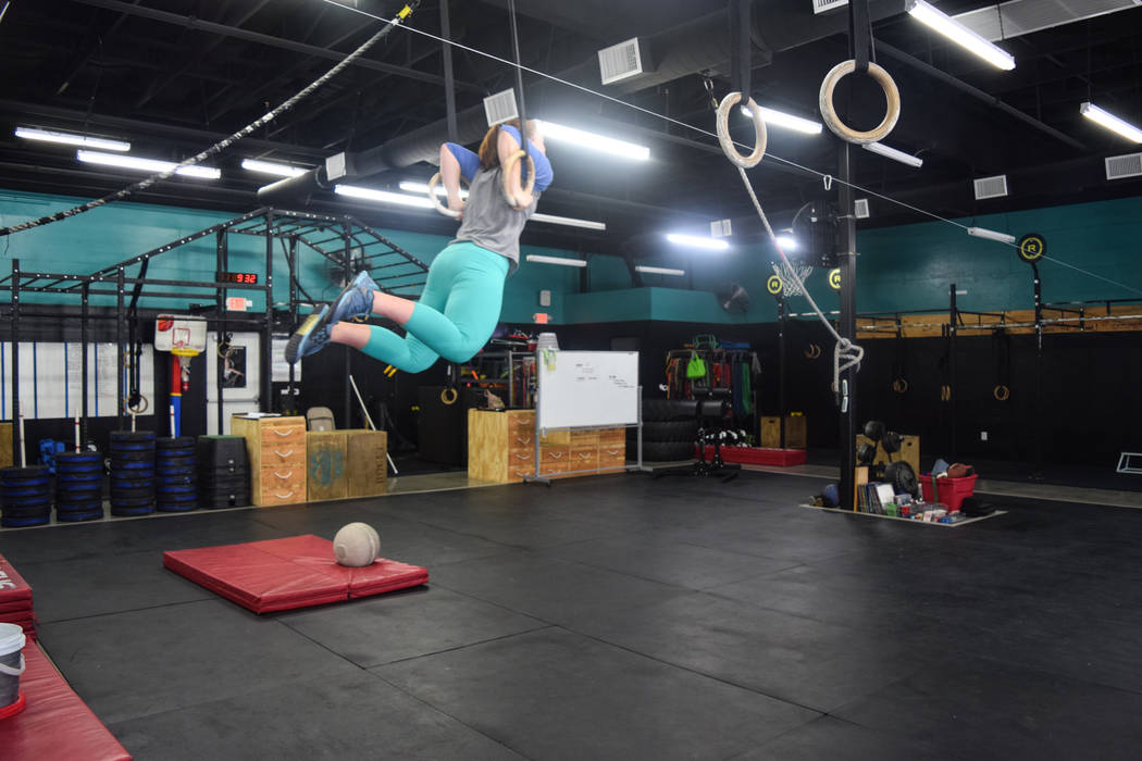 Marya Drabicki, 15, started practicing the fitness regimen CrossFit when she was 9 years old. (Alex Meyer/View) @alxmey