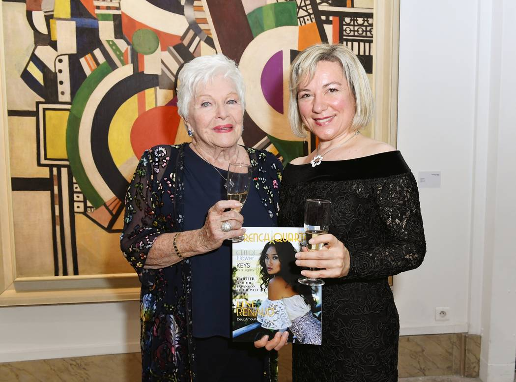 On May 18, French Quarter Magazine sponsored an exhibit opening at the City of Paris Museum of Modern Art with French artist Line Renaud as the guest of honor. French Quarter Magazine's Isabelle K ...