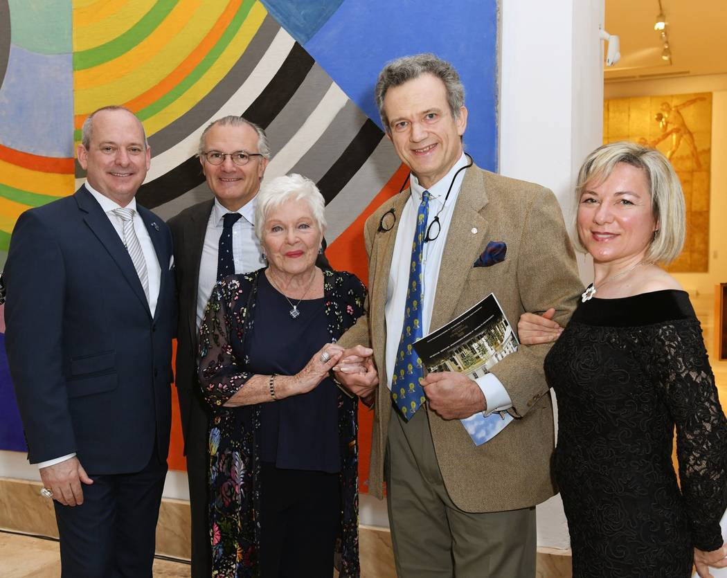 On May 18, French Quarter Magazine sponsored an exhibit opening that celebrated Liberace's life at the City of Paris Museum of Modern Art with French artist Line Renaud as the guest of honor. Fren ...