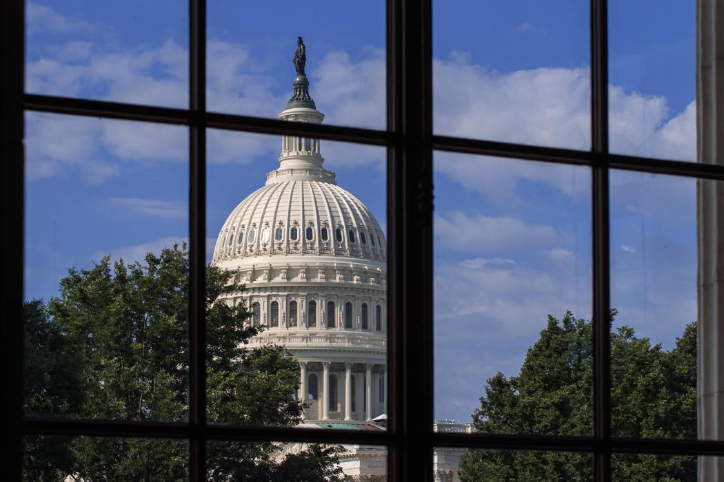 The Capitol in Washington, D.C., Friday, June 30, 2017. (J. Scott Applewhite/AP)