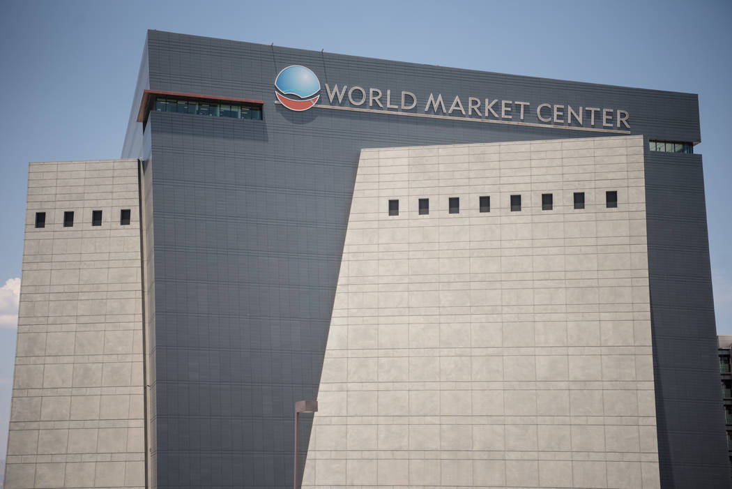 World Market Center on Friday, July 7, 2017, in Las Vegas. It was recently sold to the Blackstone Group. Morgan Lieberman Las Vegas Review-Journal