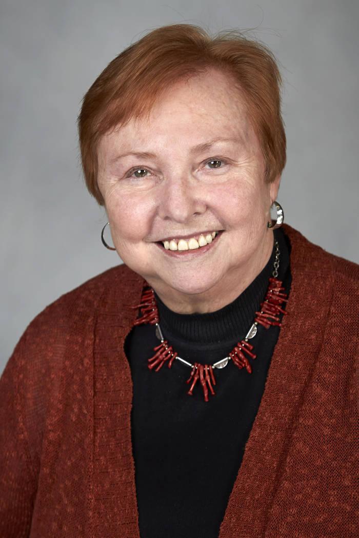 Dr. Barbara Atkinson on May 5, 2014.   (GERI KODEY/ UNLV Photo Services)