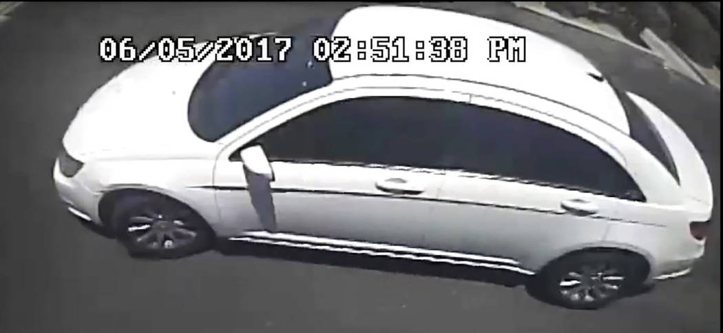 Police are seeking the public's help finding two armed men believed to have carried out a pair of armored truck robberies in Las Vegas since early June. (Las Vegas Metropolitan Police Department)