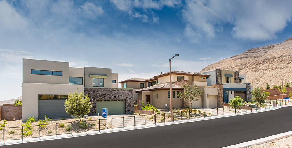 Model homes are now open at Oluna by Lennar in The Cliffs village in the master-planned community of Summerlin.( Summerlin)