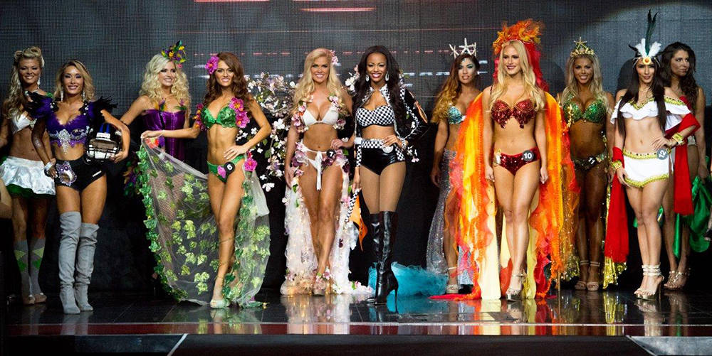 Hooters annual international swimsuit pageant will be held July 12  at The Palms. (Tom Donoghue)