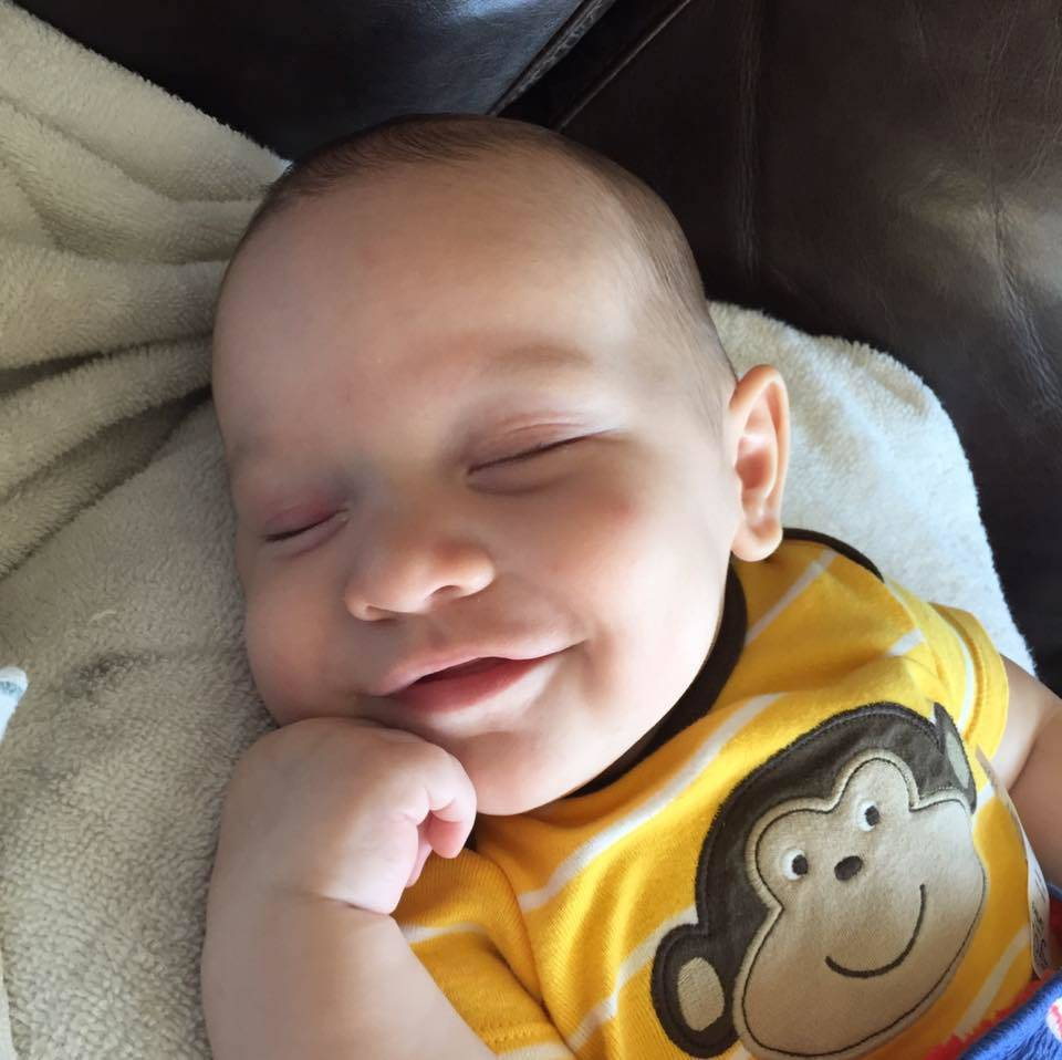 John Jr. would have celebrated his first birthday Wednesday. (Facebook)