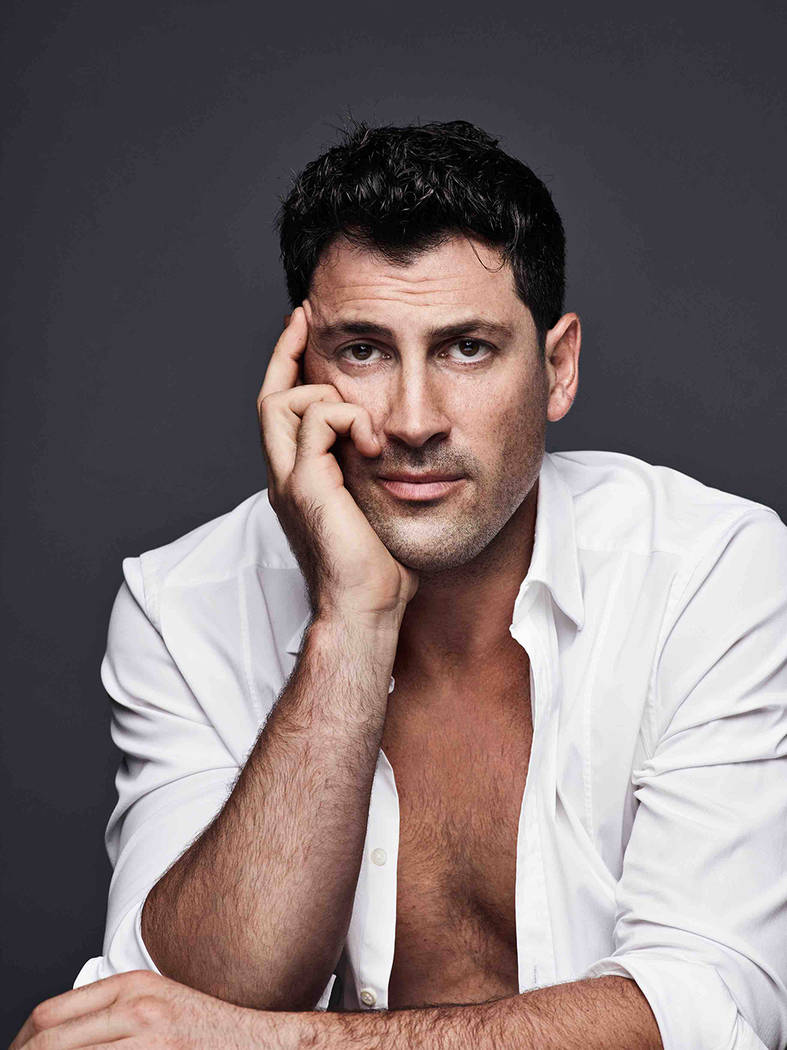 """Maksim Chmerkovskiy of  """"Dancing with the Stars"""" will be offering private lessons at his Dance With Me studio at Tivoli Village July 26-27. (Courtesy)"""