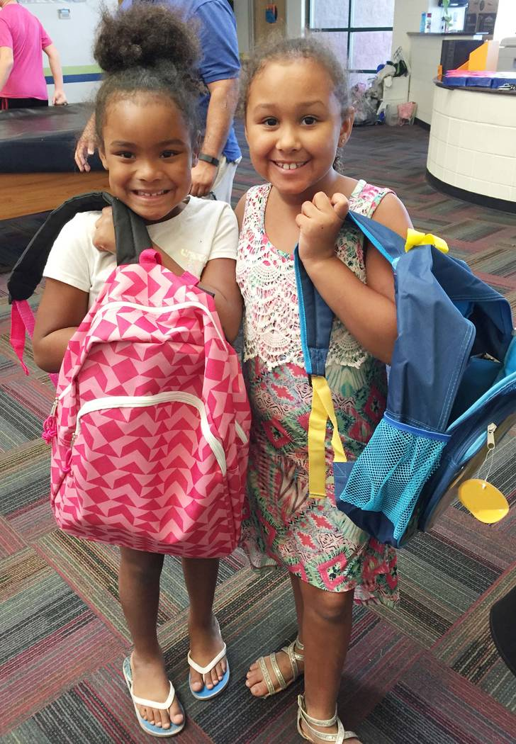 Greater Las Vegas Association of Realtors members are participating in a school supply drive organized by the Nevada Association of Realtors and its LeadershipNVAR Class of 2017 to benefit local c ...
