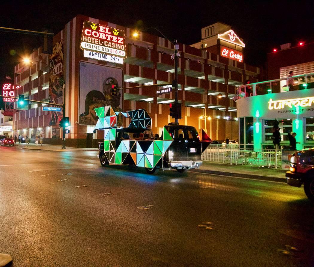 Dragon Mode in downtown Las Vegas. Lyft Las Vegas