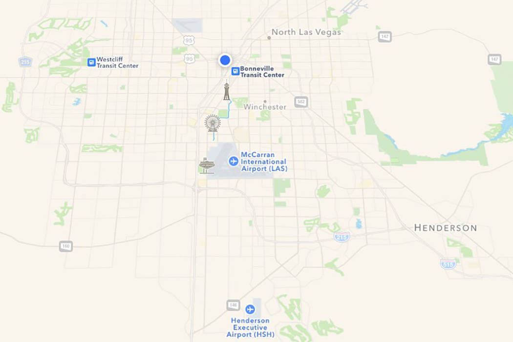 Apple maps app becomes more useful for travelers in Nevada | Las ...