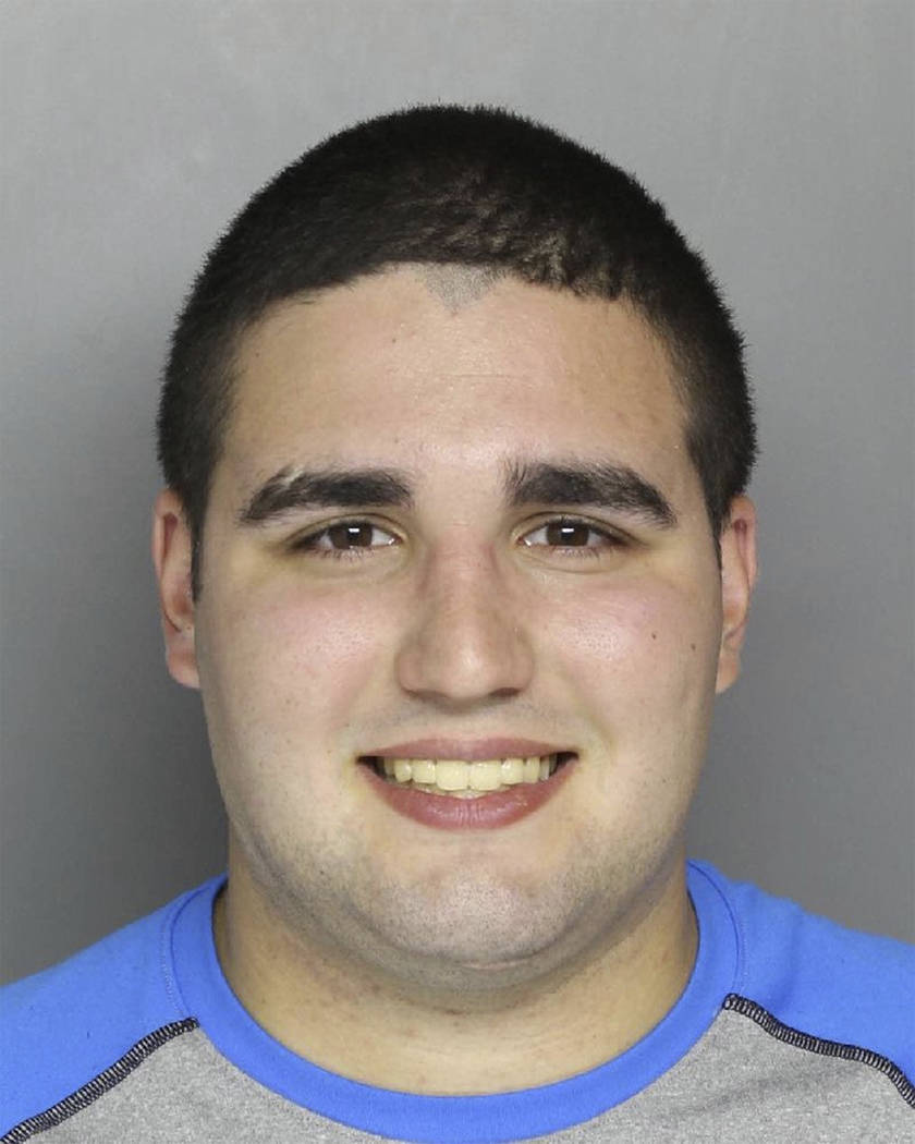 This photo provided by the Bucks County District Attorney's Office in Doylestown, Pa., shows Cosmo DiNardo, who was arrested Monday, July 10, 2017. DiNardo was arrested on a charge of possession o ...