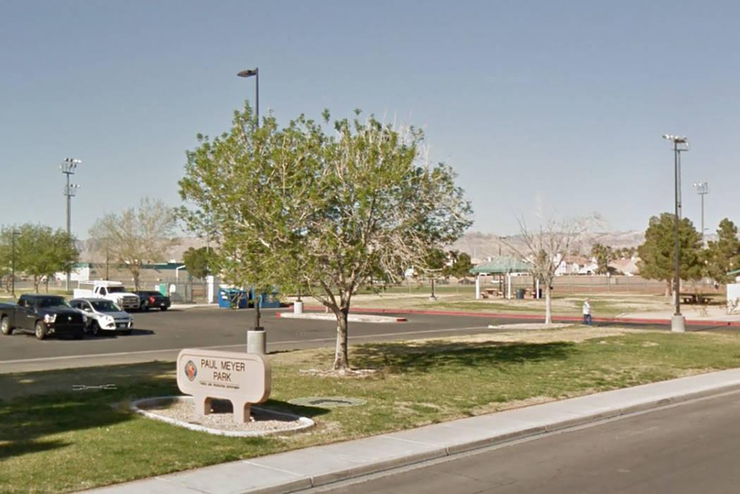 Paul Meyer Park, 4525 New Forest Drive in Las Vegas. (Google Streetview)