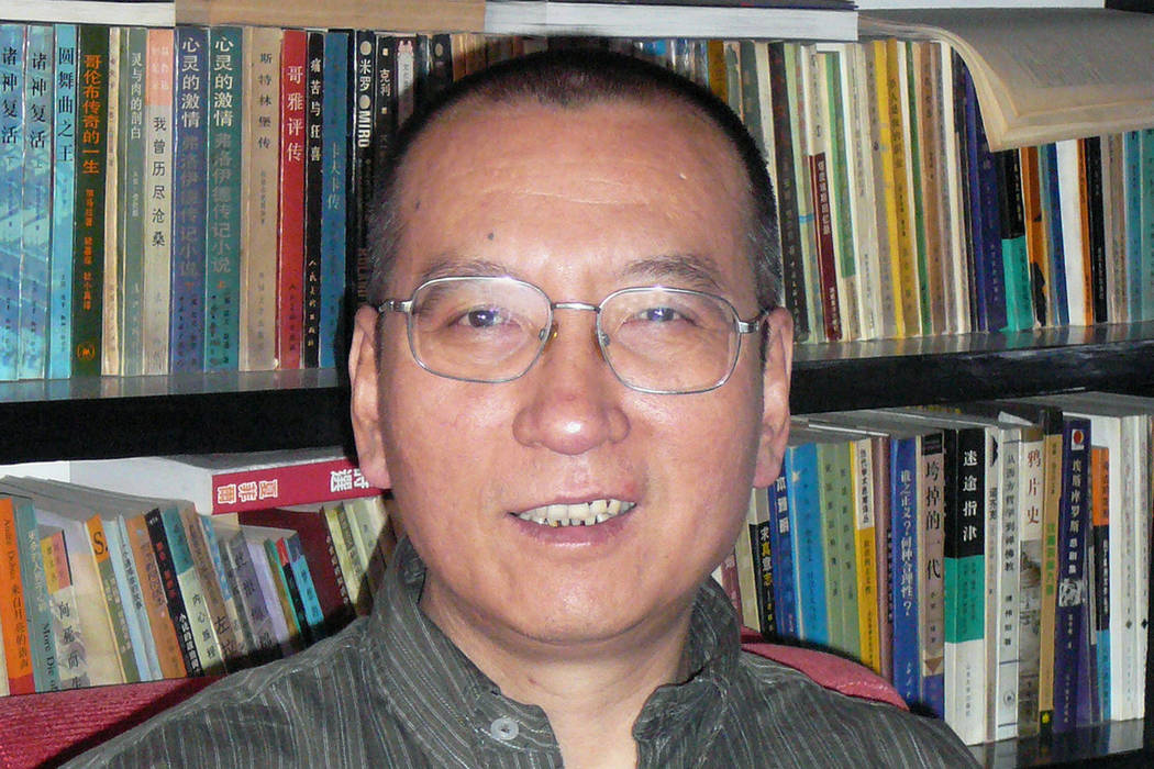 Chinese dissident Liu Xiaobo, April 2008, in China. The judicial bureau in the northeastern Chinese city of Shenyang says the jailed Nobel Peace Prize laureate has died of multiple organ failure T ...